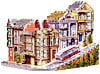 streetinsanfrancisco,street in san francisco, used jigsaw puzzle, wrebbit puzz 3d, san francisco