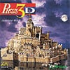 puzz3d by wrebbit, mont st michel, gothic abbey of medieval pilgrims,