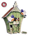 birdhousewithsoundmodule,birdhouse puzzle, bird sounds birdhouse, puzz3d by wrebbit,