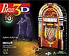 jukebox3d,3d puzzle jukebox, rock-ola bubbler puzz3d, wrebbit rare puzzles
