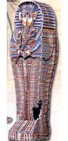 tutankhamenstomb,tutankhamen's tomb rare 3d puzzle, jigsaw puzzle by wrebbit, sarcophagus