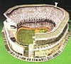 Yankee Stadium foam jigsaw puzzle model replica