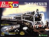 orientexpress,orient express three dimensional jigsaw puzzle, rare puzzle by wrebbit