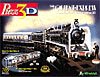 orient express three dimensional jigsaw puzzle, rare puzzle by wrebbit