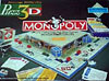 puzz3d monopoly, jigsaw puzzle by wrebbit, rare jigsaw puzzle, 755 pieces, wrebbit puzz3d