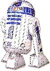 R2D2 from Star Wars - 3D Jigsaw Puzzle by Wrebbit