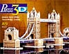 londontowerbridgewrebbitpuzz3d,london tower bridge 3d jigsaw puzzle by wrebbit, rare puzzle of bridge