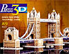 london tower bridge 3d jigsaw puzzle by wrebbit, rare puzzle of bridge