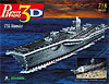 uss nimitz aircraft carrier 3d puzzle by wrebbit, rare us ship puzz3d