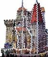 dracula's castle 3d puzzle by wrebbit, puzz3d rare jigsaw puzzle