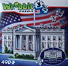 white house puzz3d, wrebbit jigsaw puzzle of the federal building, washington dc