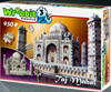 taj mahal 950 piece 3d puzzle, tajmahal wrebbit rare 3d jigsaw puzzle, very rare