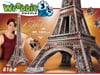 eiffel tower 3d jigsaw puzzle by wrebbit, rare foam puzzle, 816 pieces