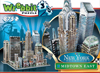 new york city midtown east 3d puzzle, empirestatebuilding puzz3d skyscraper puzzles, wrebit maker 3d