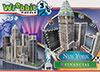 new york city financial 3d puzzle collection, puzz3d skyscraper puzzles, wrebit maker 3d