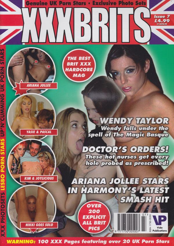 XXX Brits # 7 magazine back issue XXX Brits magizine back copy xxxbrits magazine back issues 2006 hardcore kinky spreads uks best porn stars nude erotic photos dir