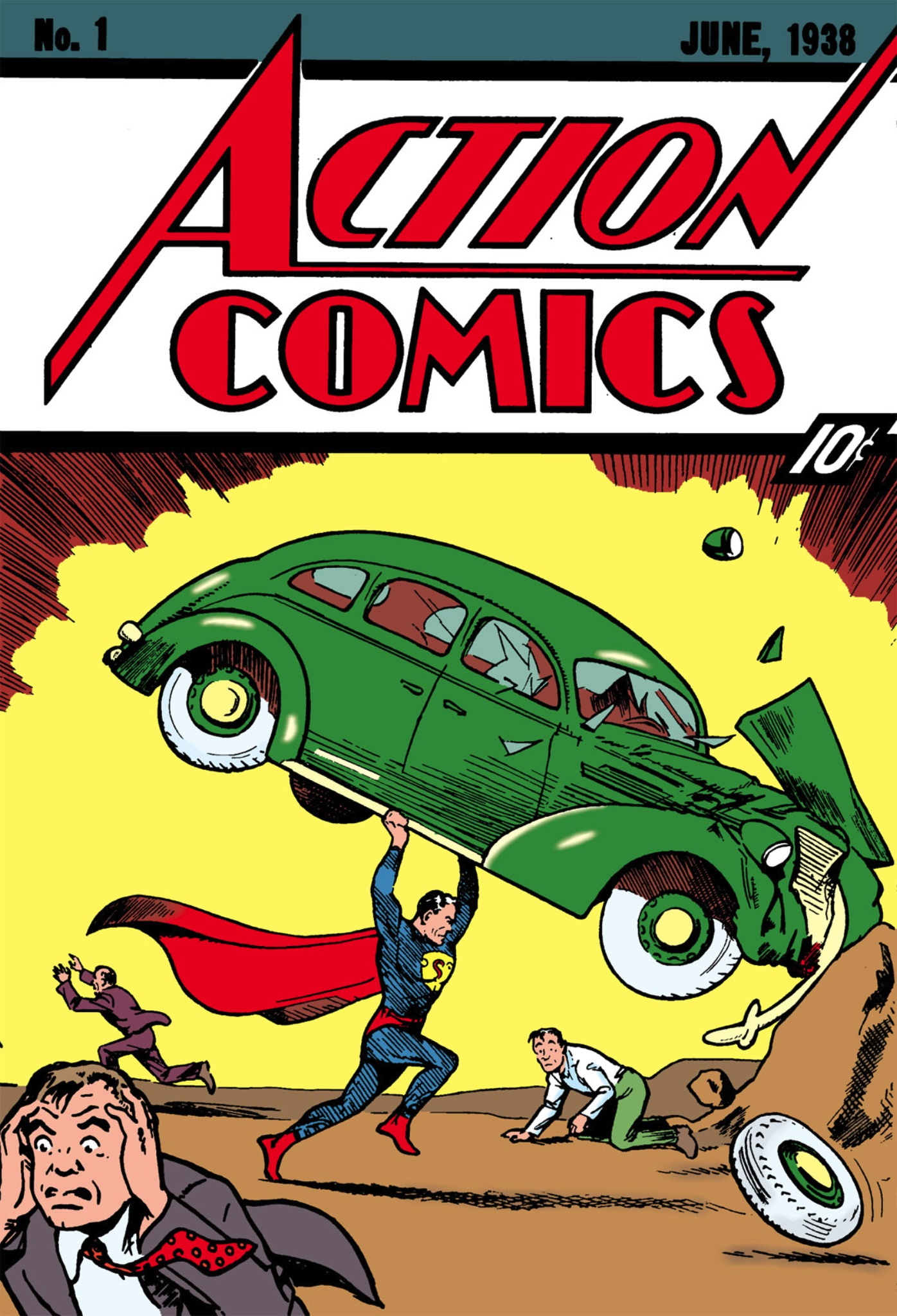 Action Comics Comic Book Back Issues of Superheroes by A1Comix