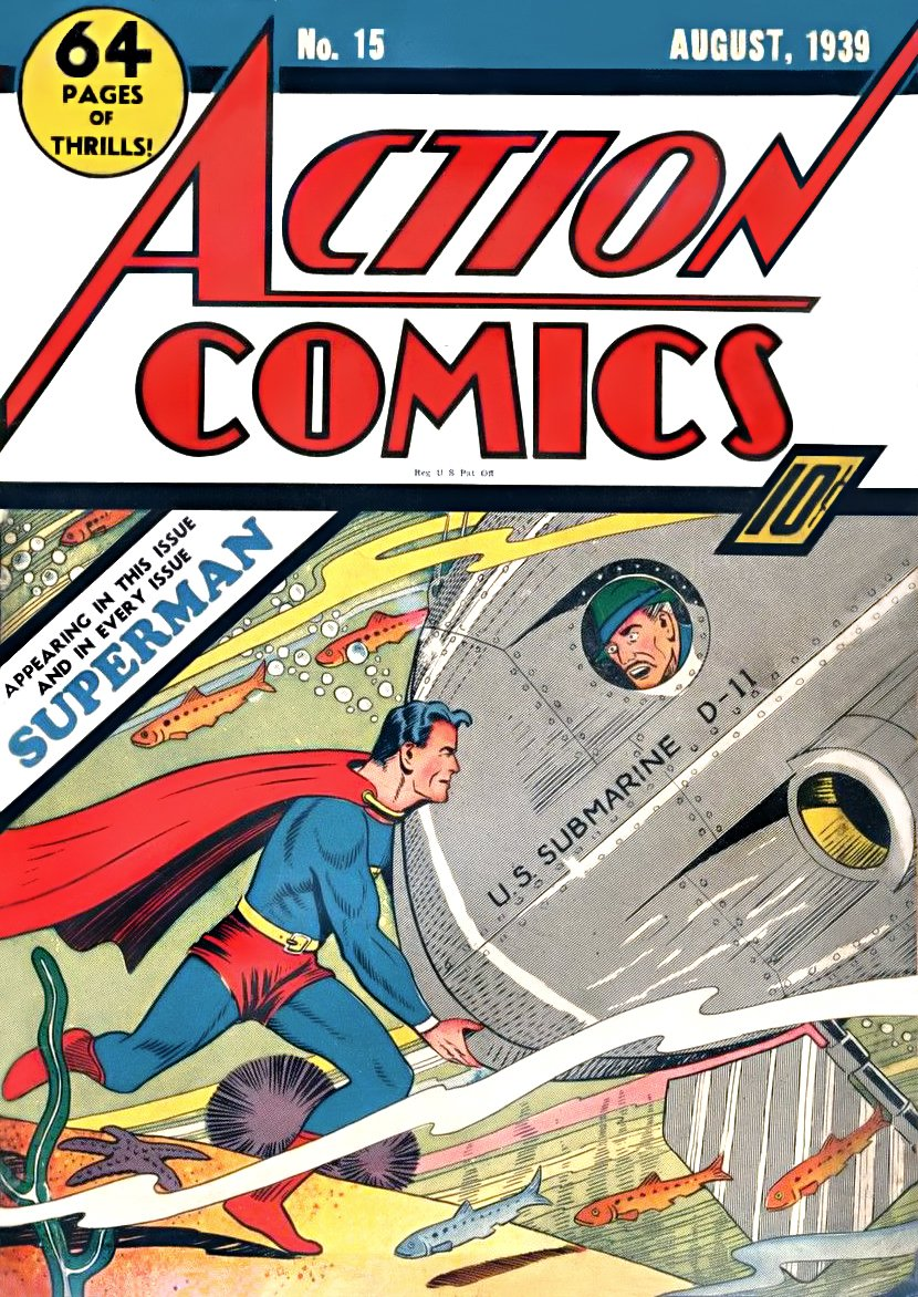 Action Comics A1 Comix Comic Book Database