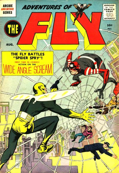 Adventures of the Fly Comic Book Back Issues by A1 Comix