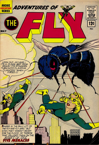 Adventures of the Fly A1 Comix Comic Book Database