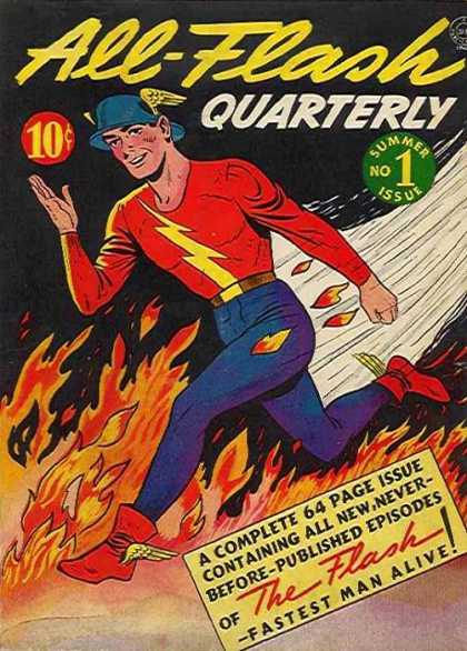 All-Flash Comic Book Back Issues by A1 Comix