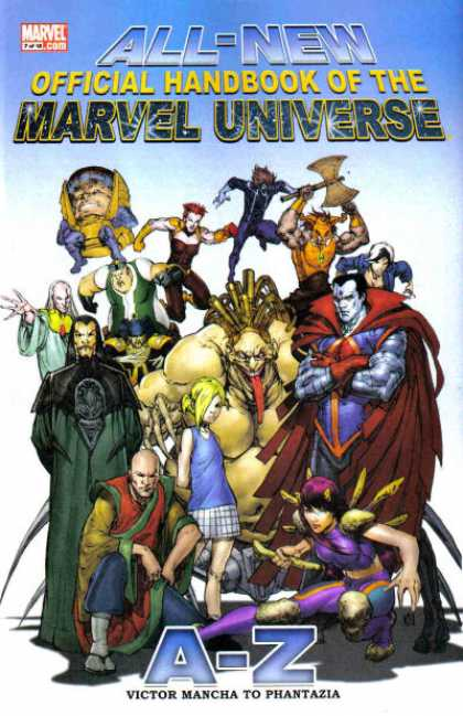 All-New Official Handbook of the Marvel Universe A to Z A1 Comix Comic Book Database