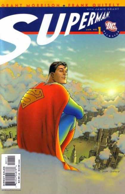 All Star Superman Comic Book Back Issues of Superheroes by A1Comix