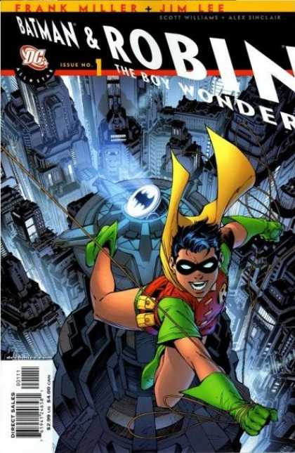 All Star Batman & Robin, The Boy Wonder Comic Book Back Issues of Superheroes by A1Comix