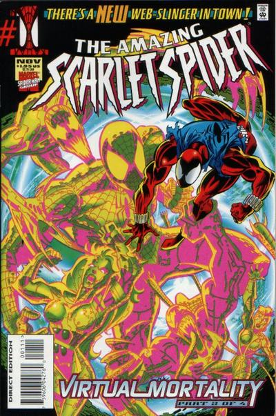 Amazing Scarlet Spider A1 Comix Comic Book Database