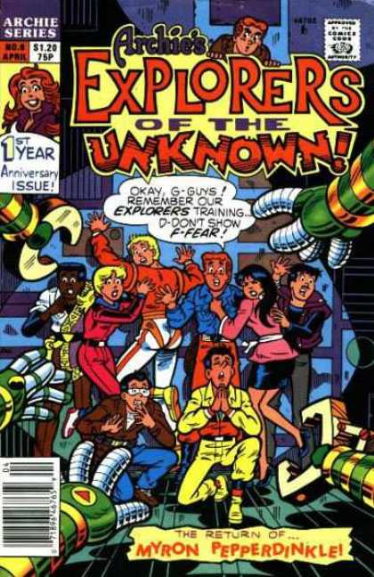 Archie's Explorers of the Unknown A1 Comix Comic Book Database