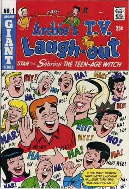 Archie's TV Laugh Out Comic Book Back Issues by A1 Comix