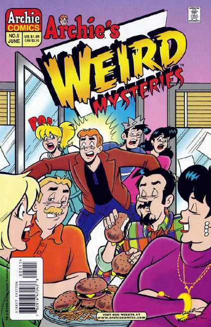 Archie's Weird Mysteries A1 Comix Comic Book Database