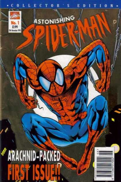 Astonishing Spider-Man Comic Book Back Issues by A1 Comix