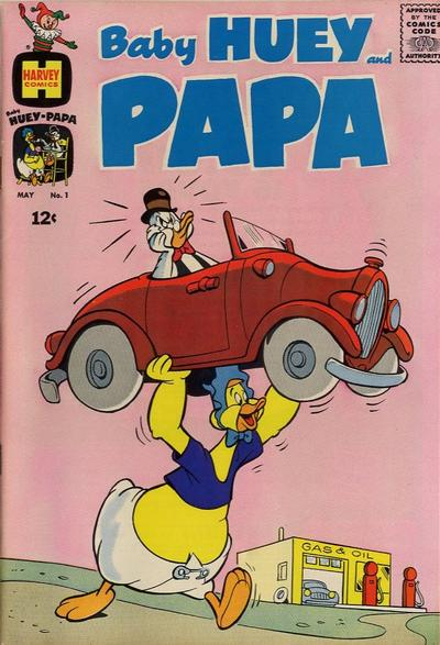 Baby Huey and Papa Comic Book Back Issues by A1 Comix