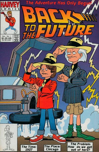 Back to the Future Comic Book Back Issues by A1 Comix