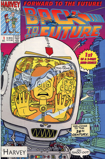 Back to the Future: Forward to the Future Comic Book Back Issues by A1 Comix