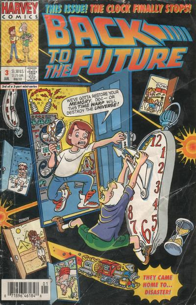Back to the Future: Forward to the Future A1 Comix Comic Book Database