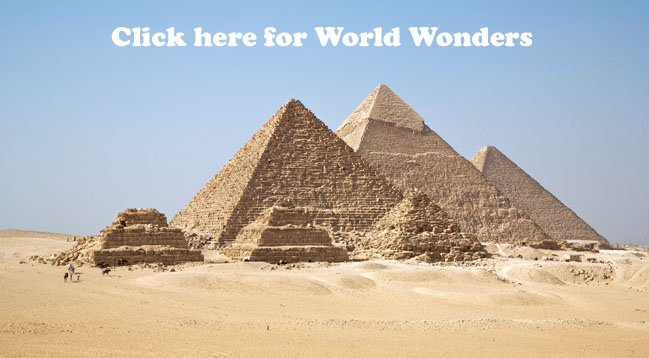 7 Wonders of the World Wonders