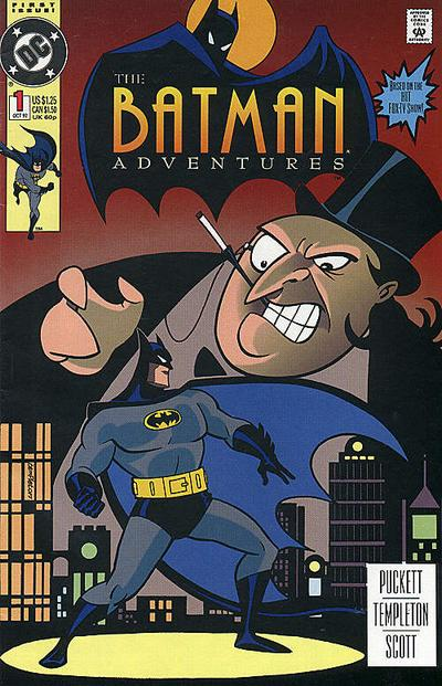 Batman Adventures Comic Book Back Issues of Superheroes by A1Comix