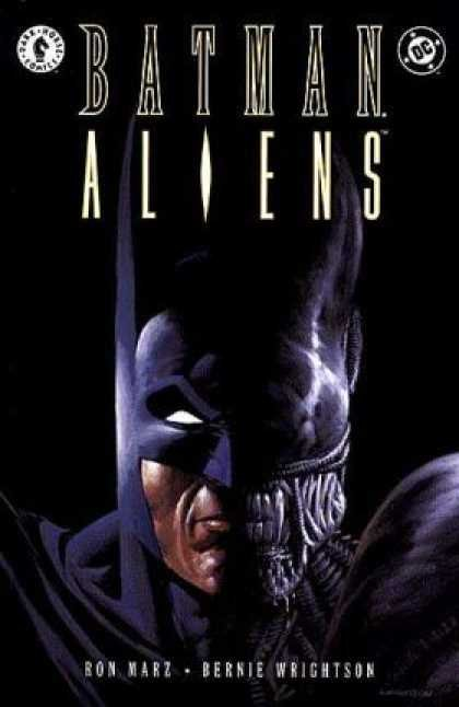 Batman Aliens Comic Book Back Issues by A1 Comix