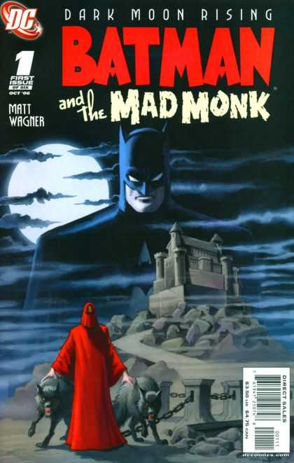 Batman and the Mad Monk Comic Book Back Issues by A1 Comix