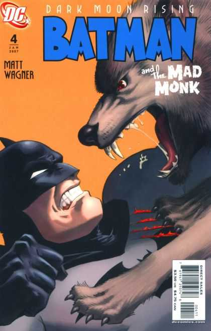 Batman and the Mad Monk A1 Comix Comic Book Database