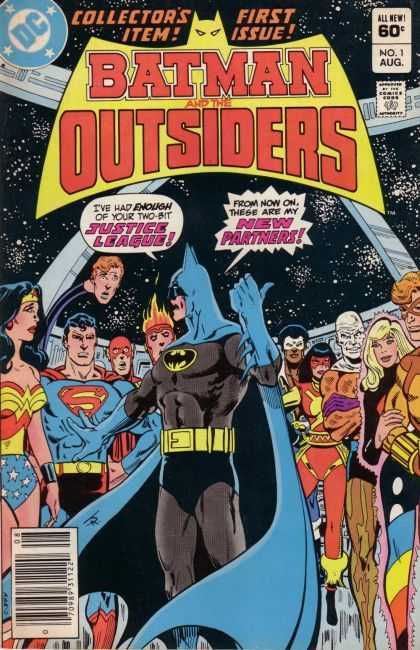 Batman and the Outsiders Comic Book Back Issues by A1 Comix