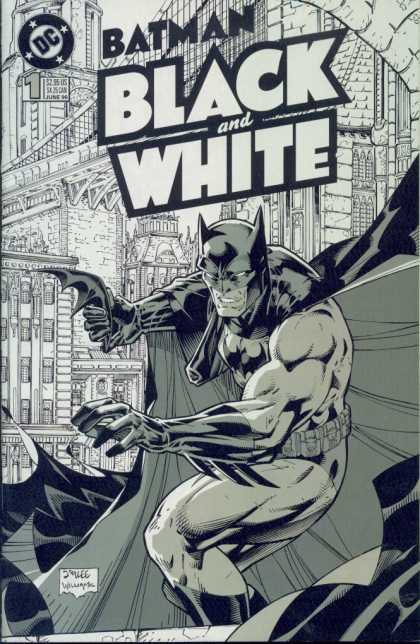 Batman: Black and White Comic Book Back Issues by A1 Comix