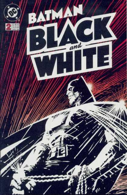 Batman: Black and White A1 Comix Comic Book Database