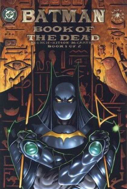 Batman: Book of the Dead Comic Book Back Issues of Superheroes by A1Comix