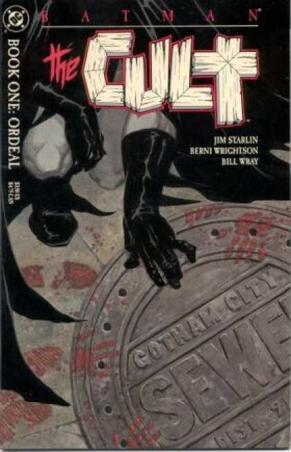 Batman Cult Comic Book Back Issues of Superheroes by A1Comix