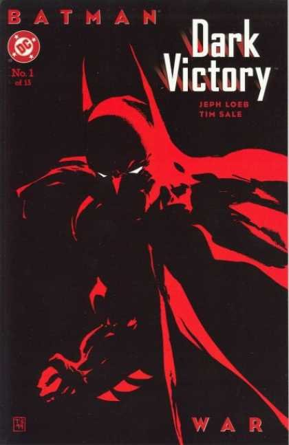 Batman Dark Victory Comic Book Back Issues by A1 Comix
