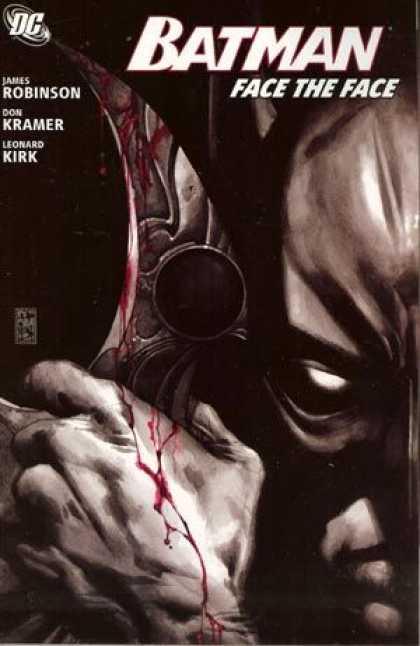Batman Face the Face A1 Comix Comic Book Database