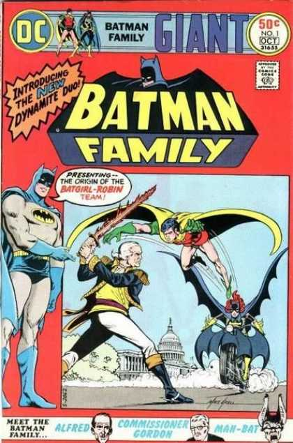 Batman Family Comic Book Back Issues by A1 Comix